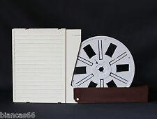 *** UNE BOBINE DE STOCKAGE FILMS SUPER 8 - 120 METRES AVEC BOITE ***