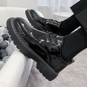 Men's Shoes Casual Soft Pu Leather Breathable Slip On lace up  Shoes