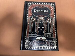 DRACULA by ~ Bram Stoker ~ Leather Bound Edition Sealed