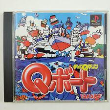 Choro Q Marine: Q-Boat (Sony PlayStation) Racing Penny Racers CIB Complete