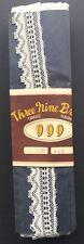 12 Yds más atractivas Vintage ajuste del cordón algodón hecho en Japón 2.5cm de ancho