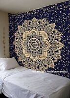 Ombre Hippie Tapestries Indian Mandala Queen Wall Hanging Bedding Throw Tapestry