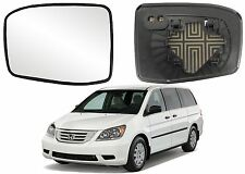 Replacement Power Heated Mirror Glass For 2005-2010 Honda Odyssey New Free Ship