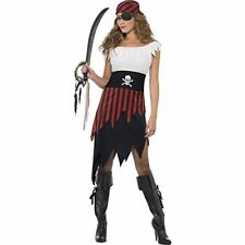 Smiffys Déguisement Femme Pirate Jupe Haut Ceinture