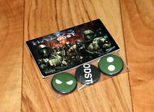 Halo 3 ODST Rare Promo Button Pin Badge Set Xbox 360 Collectible