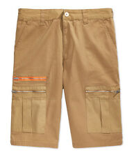 Sean John Boys Adjustable Pile Casual Cargo Shorts khaki 2T