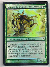 MTG Magic BOK FOIL - Sakura-Tribe Springcaller/Meneuse de printemps, French/VF