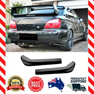 Rear Bumper Pods FOR Subaru Impreza WRX STI (2003-2007) Matte Black