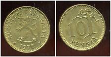 FINLANDE 10 pennia 1978