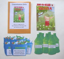 Teacher Made Literacy Center Comprehension Skills Main Idea & Details Fiction