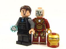OFFICAL LEGO BRAND - - - - TONY STARK  & IRON MAN - - - - - patriot war machine