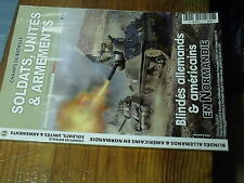 8µ? Revue Champs Bataille Soldats Unités n°13 Blindés allemand & US en Normandi