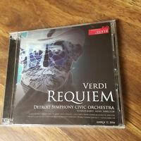 DETROIT SYMPHONY CIVIC ORCHESTRA Messa De Requiem Giuseppe Verdi 2006 Music 2 CD