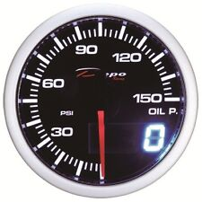 52mm Depo Racing Digital Oil Pressure Gauge 150PSI WA5227LED universal