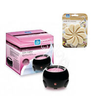New Pan Aroma  Electric Wax Melt Oil Melter Burner with FREE WAX