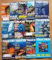12x Tauchen 2014 Jahrgang Zeitschrift Sport Meere Tiere Urlaub Tauchzeitschrift