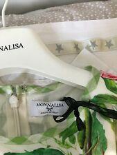 Monnalisa, Cream Flared Dress, 5 Yrs, BNWT, RRP £103