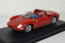 "Ferrari 250 p ""prova"" 1963 rouge 1:43 ART MODEL NOUVEAU & OVP 118"