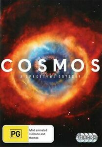 Cosmos A Spacetime Odyssey - (DVD, 4 Disc Set) Region 4 - NEW+SEALED