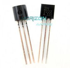 50PCS NPN Transistor TO-92 2N2222A 2N2222