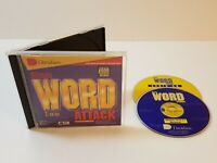 Davidson Ultimate Word Attack PC CD-Rom 1997 Windows Mac Kids Educational Game