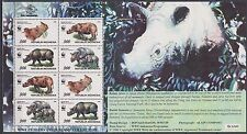 Indonesia Indonesie MS 3 sheet MNH Wereld Natuur Fonds 1996