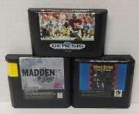 NFL Madden 96 Mike Ditka Sports Talk Football Sega Genesis Working 3 Game Lot