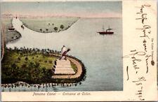 Panama Canal Zone -   Colon Telegram 1905 2 centavos to United States