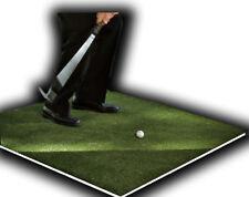"Backyard Golf Mat 48"" x 48"" Pro Residential Practice Golf Turf Mat With Foam Pad"