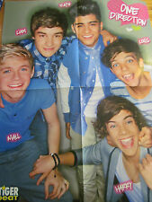 One Direction, Liam Payne, Double Four Page Foldout Poster