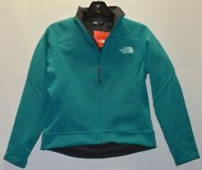 NORTH FACE Womens CAROLEENA JACKET Windproof Soft Shell Jacket Fleece Green XS