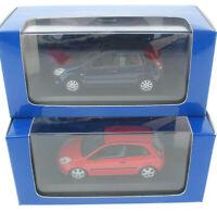 2x MINICHAMPS - Ford Fiesta 3 + 5 Türer - 1:43 in OVP / Box Modellauto Model Car