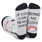 Women Men Novelty Socks Retro Letter Print Funny Socks Stocking Warm Winter Gift