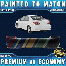 NEW Painted To Match - Rear Bumper for 2003-2008 Toyota Corolla S Sedan 03-08