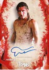 The Walking Dead Survival Box Autograph Card Nick Gomez As Tomas
