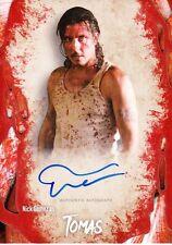 The Walking Dead Survival Box Autograph Card Nick Gomez As Tomas