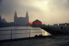 PHOTO  1991 SEACOMBE WIRRAL ROYAL LIVER BUILDING FROM PRINCE'S DOCK A FAIRLY EAR