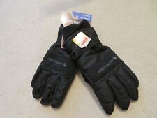 Carhartt Waterproof Insulated Cold Weather Work Gloves, Black, XL