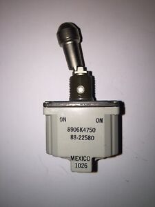 Cutler-Hammer DPDT Toggle Switch 8906K4750 **Brand New** In Sealed Package