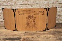 Wooden Personalised Dungeon Master Screen - Dungeons & Dragons RPG, D&D DND