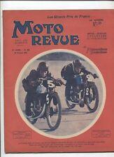 Moto Revue N°448  ;  10 octobre  1931 : le montage du sidecar
