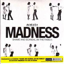 CD Single MADNESS Shame and scandal 2 track CARD SLEEVE