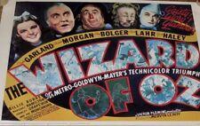 WIZARD OF OZ 1939 MOVIE POSTER REPRINT PORTAL PUBLICATIONS M081 MGM LITHO USA