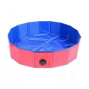 1pc Pet Swimming Pool Foldable Bathing Tub PVC Non-slip Bottom for Dogs