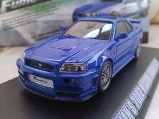 Coches, camiones y furgonetas de automodelismo y aeromodelismo GT color principal azul escala 1:43