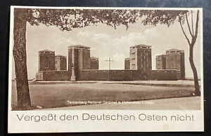 1936 Germany Real Picture Postcard cover To Berlin National Monument