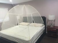 Pop Up Folding Mosquito Net Tent Canopy Curtains Outdoors Home Travel Camping