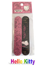 Sanrio Hello Kitty Kawaii (Cute) 2-sided Nail File / Nail Buffer 2 pcs Set: Pink