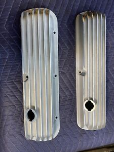 FORD MERCURY 289 302 CAL CUSTOM 40- 1017 ALUMINUM VALVE COVERS MUSTANG FAIRLANE