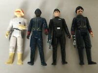 Vintage Star Wars Lot of 4 1980 & 1981 L.F.L. Action Figures made in Hong Kong